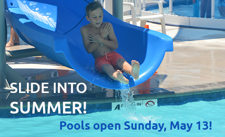 Pools are Open!