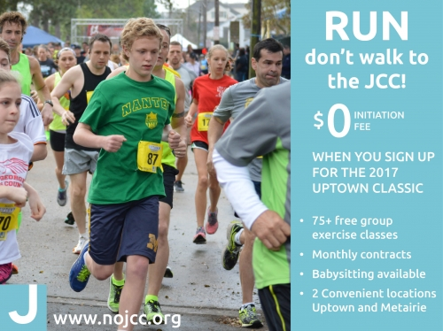 Register for the Uptown Classic and save on JCC membership!